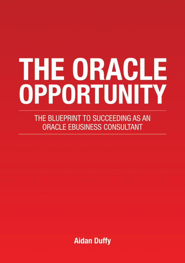 The Oracle Opportunity - book cover, copyright Aidan Duffy